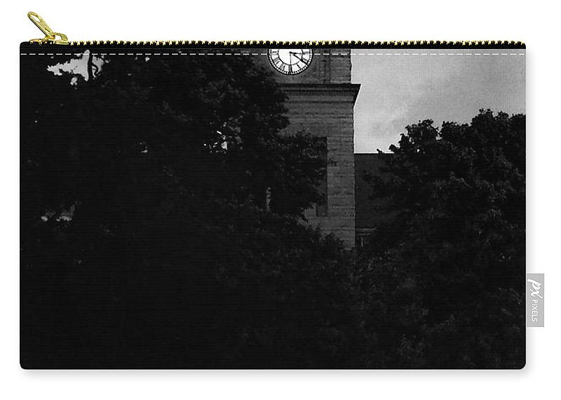Marion Carry-all Pouch featuring the photograph Late Evening Light Marion Kansas by Michele Carter