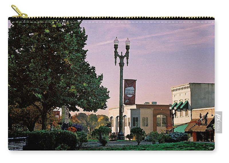 Landscape Carry-all Pouch featuring the photograph Late Sunday Afternoon by Steve Karol