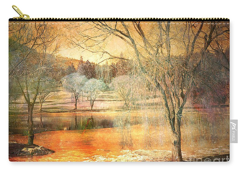 Trees Carry-all Pouch featuring the photograph Laughter Amongst Trees by Tara Turner