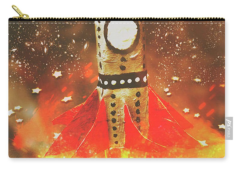 Launch Carry-all Pouch featuring the photograph Launch Of Early Learning by Jorgo Photography - Wall Art Gallery