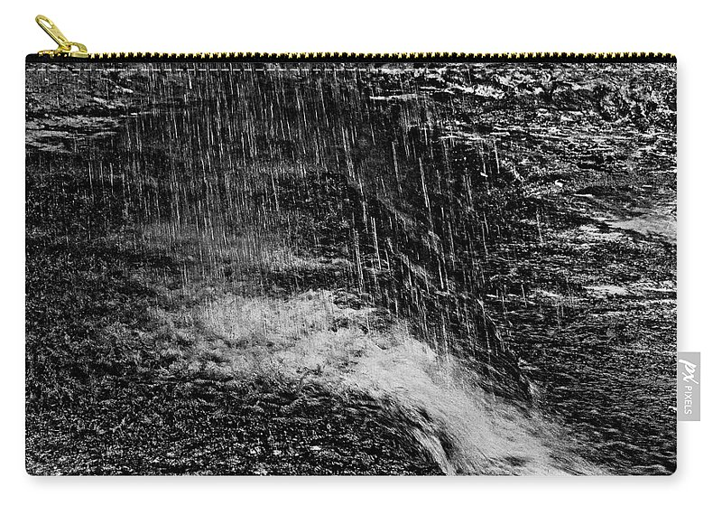 Falls Carry-all Pouch featuring the photograph Lava Falls by Michael Bessler