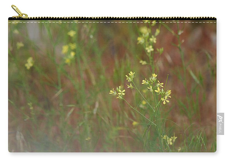 Meadow Carry-all Pouch featuring the photograph Lay In The Meadow by Donna Blackhall