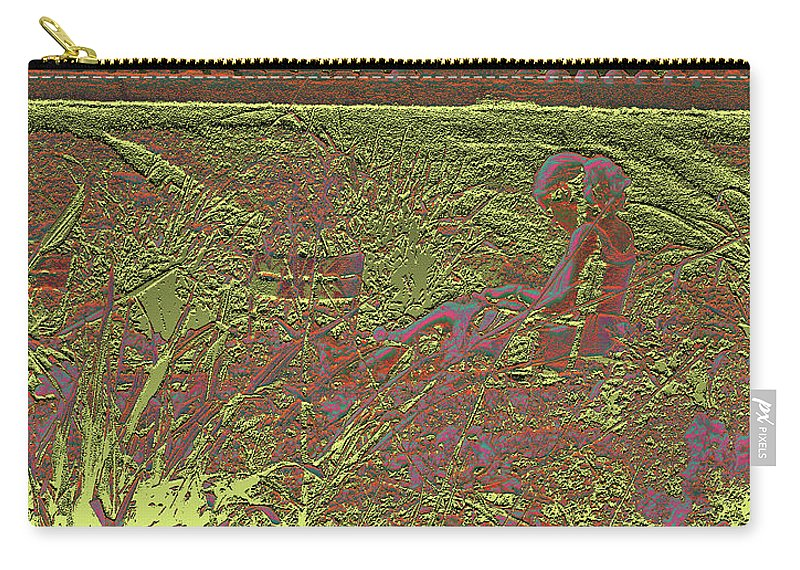 Luxembourg Garden Carry-all Pouch featuring the photograph Lazy Afternoon 1 by Marc Dettloff