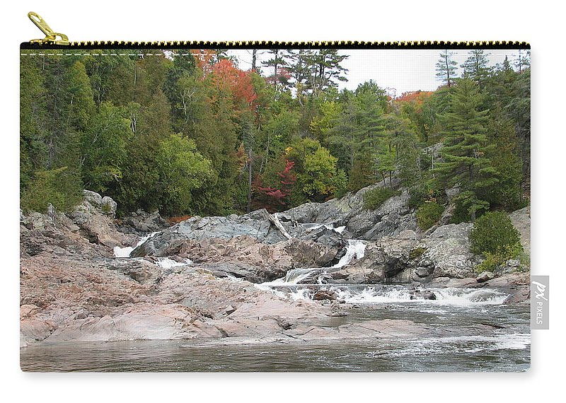 River Carry-all Pouch featuring the photograph Lazy River by Kelly Mezzapelle