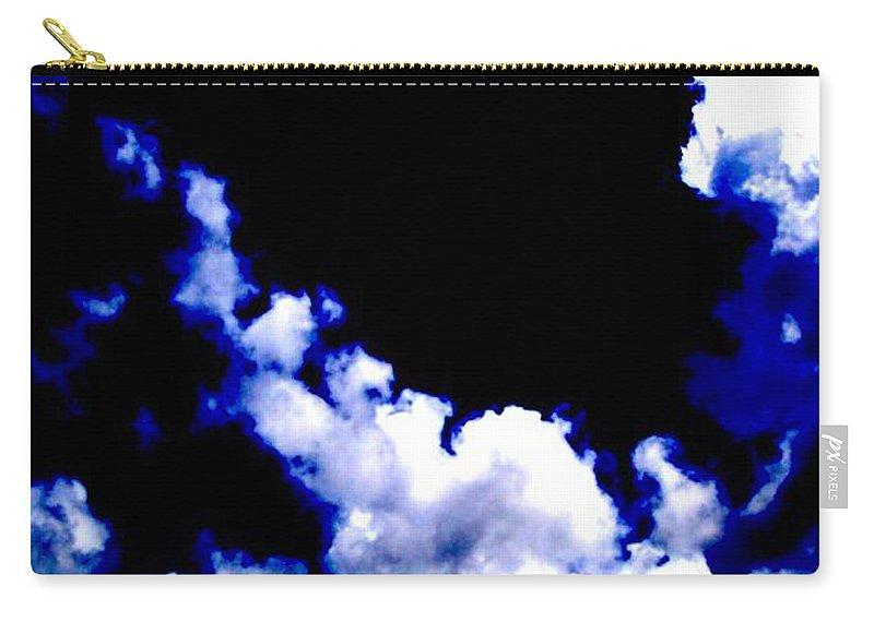 Blue Carry-all Pouch featuring the photograph Le Beau Ciel by Vicki Lynn Sodora