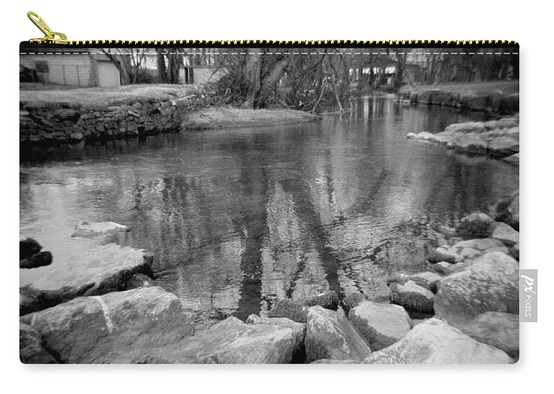 Photograph Carry-all Pouch featuring the photograph Le Tort Reflection by Jean Macaluso