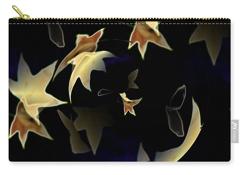 Leaves Carry-all Pouch featuring the photograph Leaves by Tim Allen