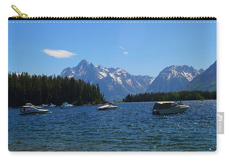 Boating Carry-all Pouch featuring the photograph Leek Marina by Beth Collins
