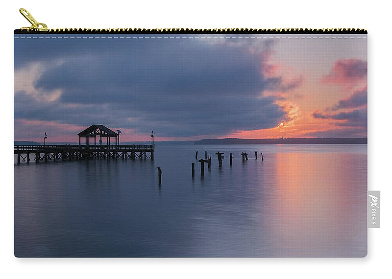 Leesylvania State Park Carry-all Pouch featuring the photograph Leesylvania Morning by Khursheed Siddiqui
