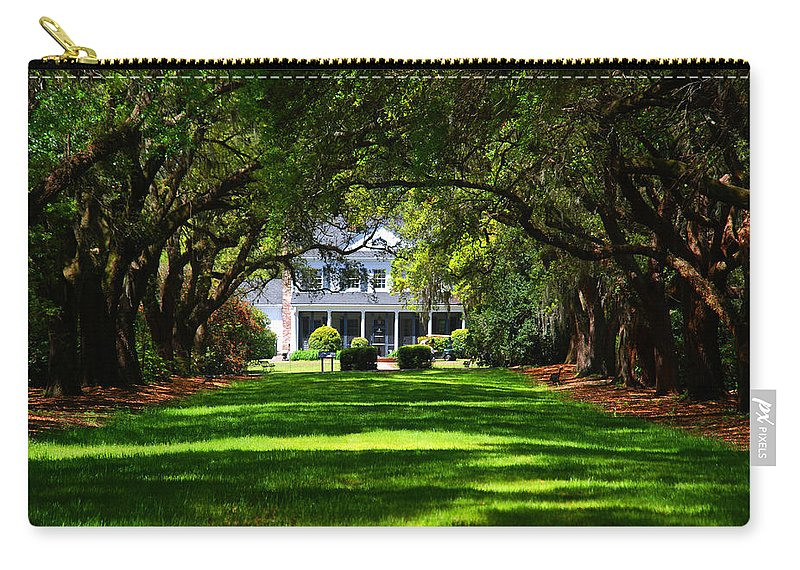 Photography Carry-all Pouch featuring the photograph Legare Waring House Charleston Sc by Susanne Van Hulst