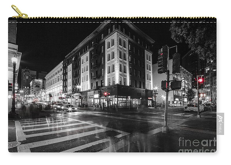 San Francisco Carry-all Pouch featuring the photograph Legs by Digital Kulprits