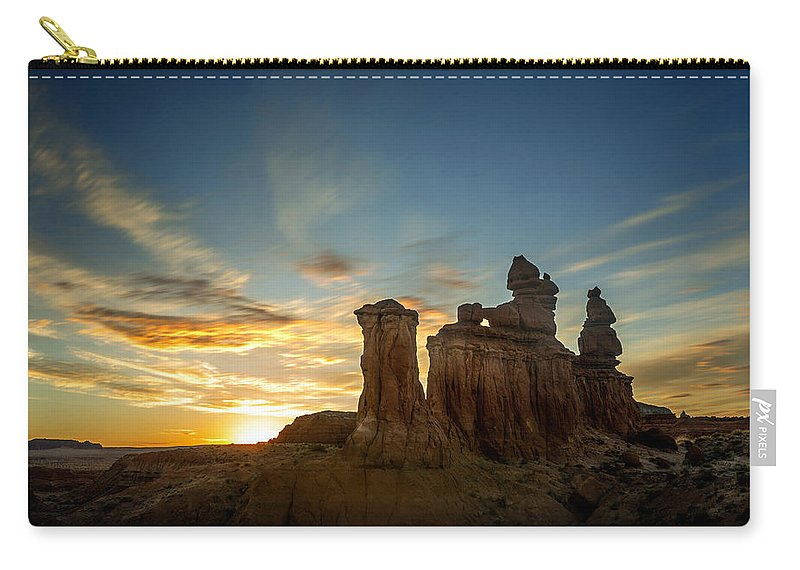 Carry-all Pouch featuring the photograph Lei Wang 09 by Lei Wang