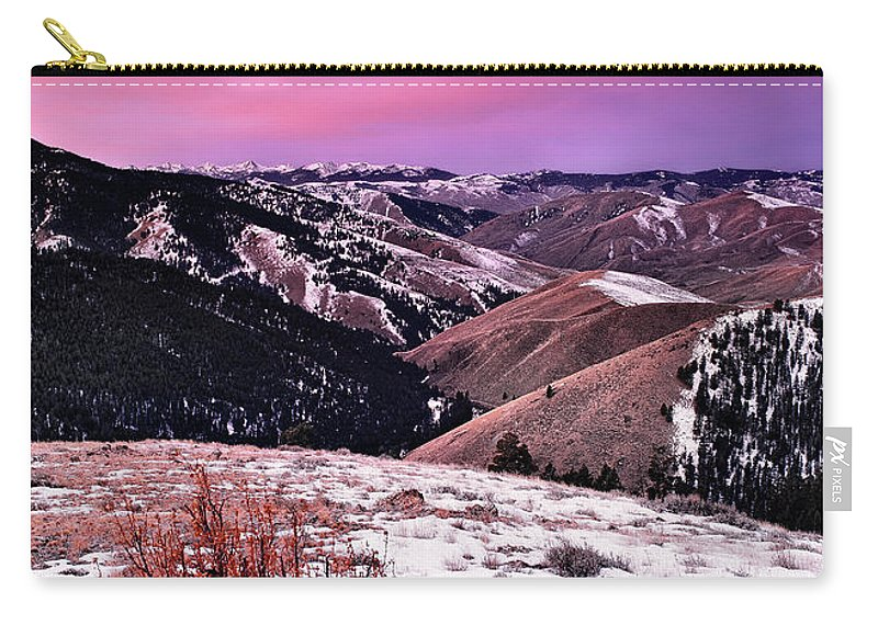 Idaho Carry-all Pouch featuring the photograph Lemhi Pass by Leland D Howard