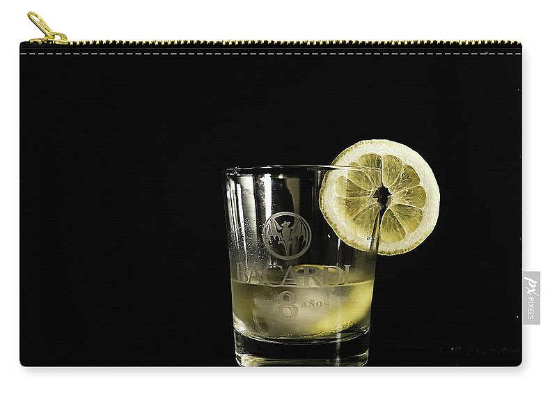 Food Carry-all Pouch featuring the photograph Lemon Bacardi by Nick Difi