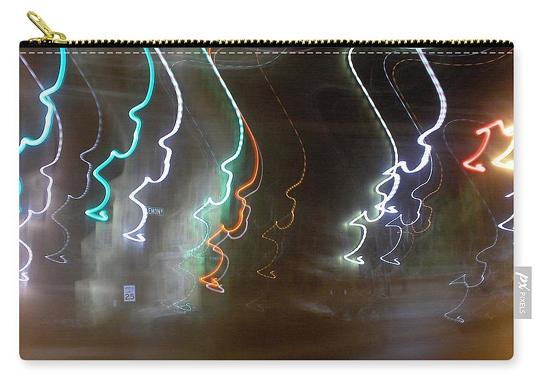 Photograph Carry-all Pouch featuring the photograph Lemon Street by Thomas Valentine
