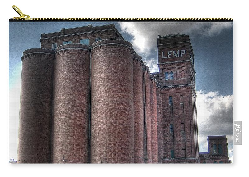 St. Louis Carry-all Pouch featuring the photograph Lemp Brewery by Jane Linders