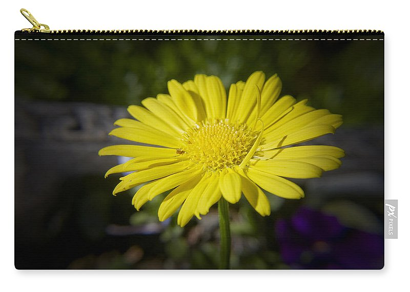 Leopard's Carry-all Pouch featuring the photograph Leopard's Bane by Teresa Mucha