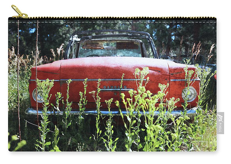 Rambler Carry-all Pouch featuring the photograph Less Rambling by Jennifer Mecca