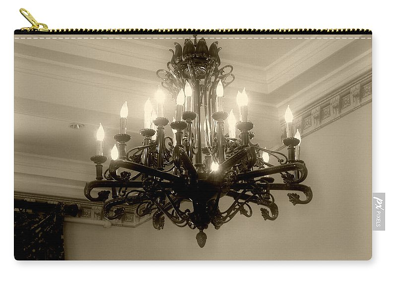 Antique Carry-all Pouch featuring the photograph Let There Be Light by RC DeWinter