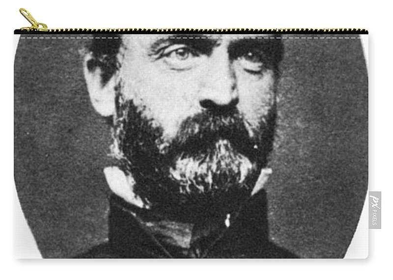 19th Century Carry-all Pouch featuring the photograph Lewis Addison Armistead by Granger
