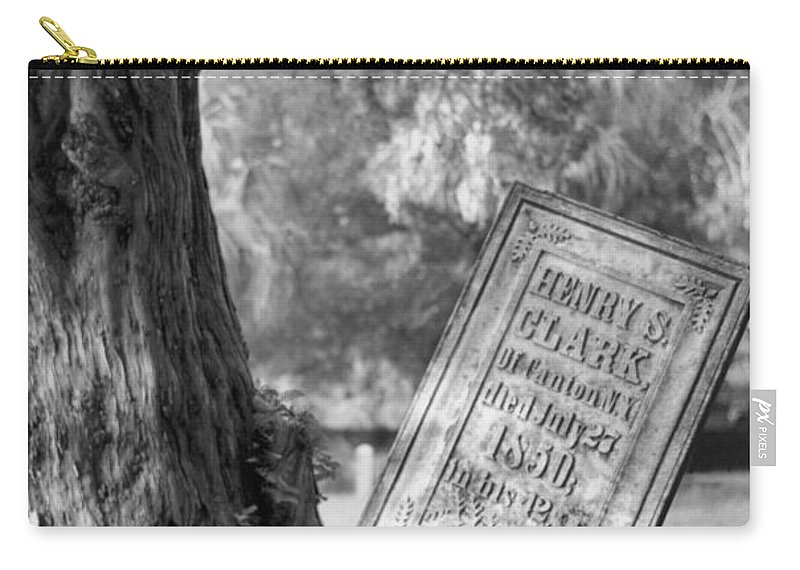 Graves Carry-all Pouch featuring the photograph Life After Death by Richard Rizzo