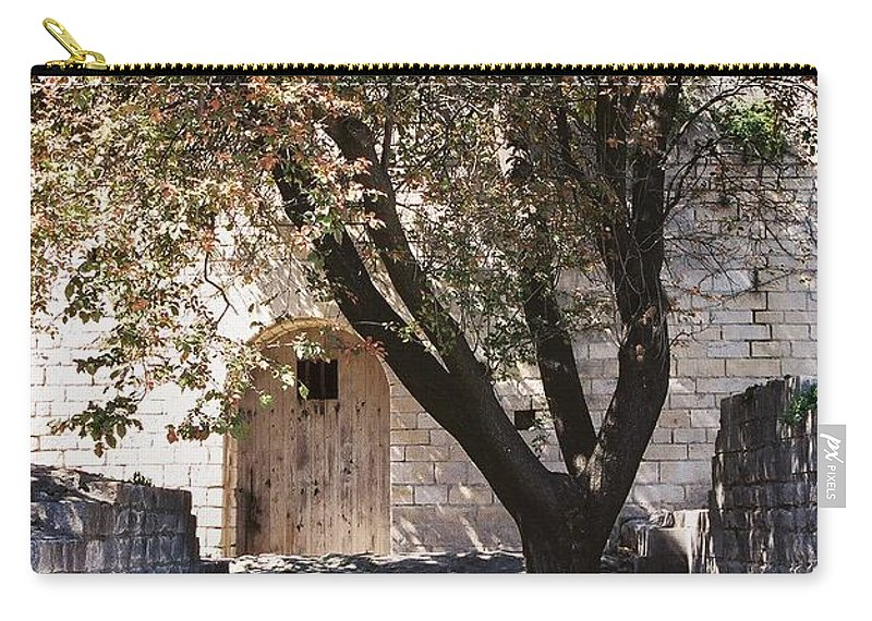 Life Carry-all Pouch featuring the photograph Life And Death by Nadine Rippelmeyer