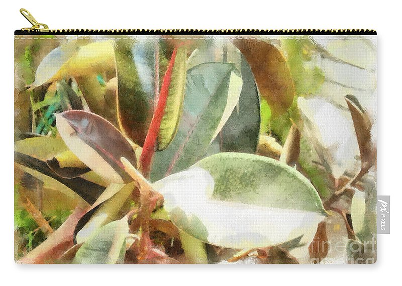 Life Carry-all Pouch featuring the photograph Life Anew by Paulette B Wright