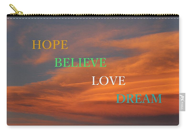 Hope Carry-all Pouch featuring the photograph Life by Fiona Kennard