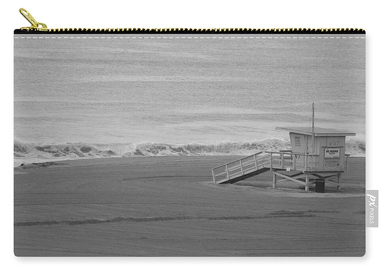 Beaches Carry-all Pouch featuring the photograph Life Guard Stand by Shari Chavira