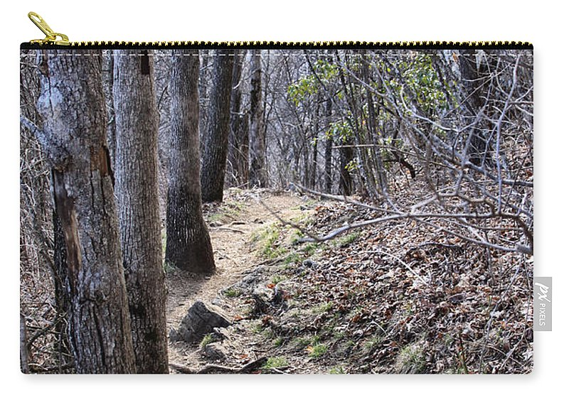 Carry-all Pouch featuring the photograph Life Is Not A Rocky Road... This Is... by Maris Salmins
