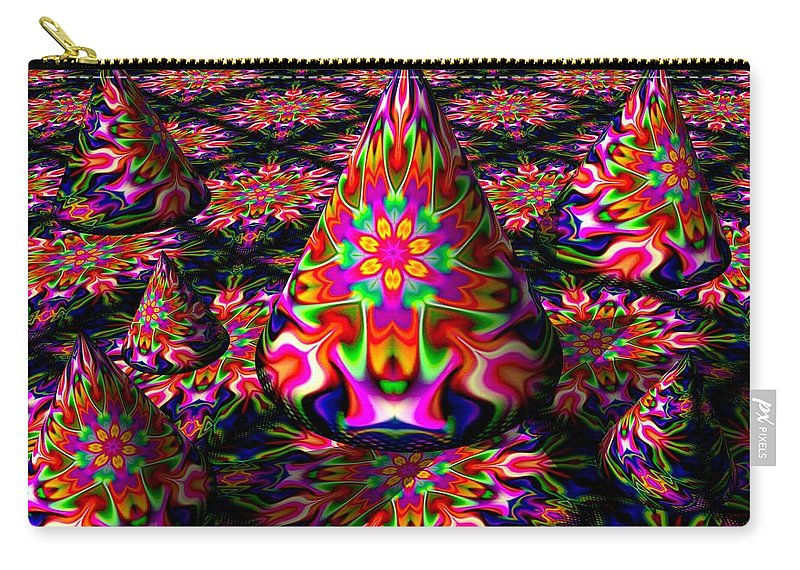 Party Carry-all Pouch featuring the digital art Life Of The Party by Robert Orinski