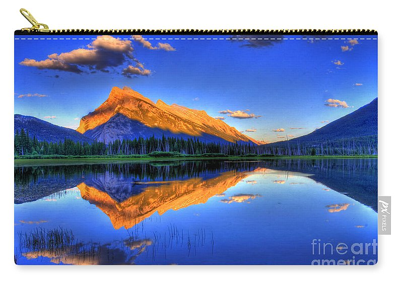 Mountain Carry-all Pouch featuring the photograph Life's Reflections by Scott Mahon