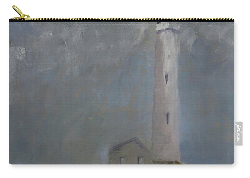 Carry-all Pouch featuring the painting Light From Above by Beatriz Flores