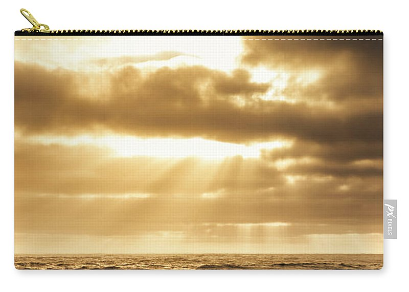 Beach Carry-all Pouch featuring the photograph Light Of Dusk by Jorgo Photography - Wall Art Gallery