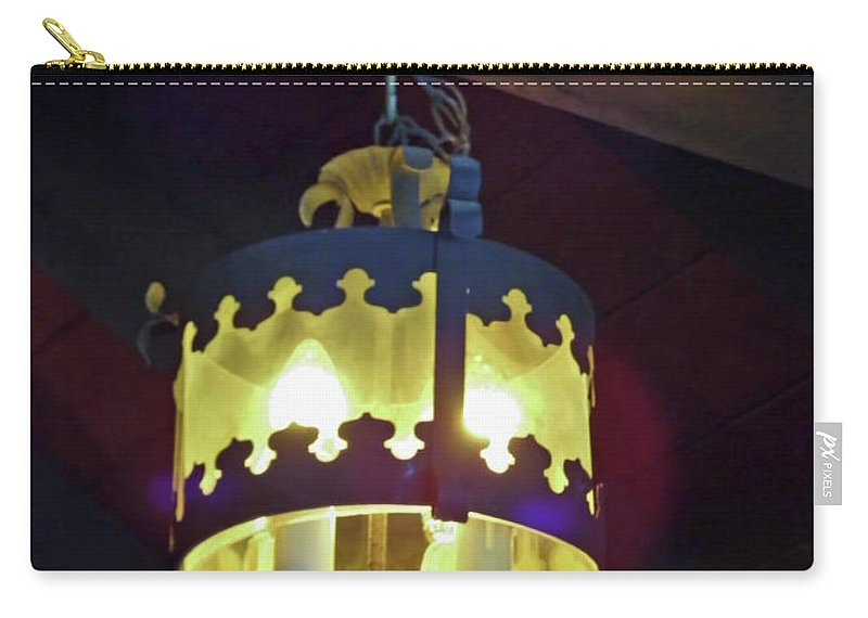 Church Carry-all Pouch featuring the photograph Light Of Our Lady Of Le Leche by D Hackett