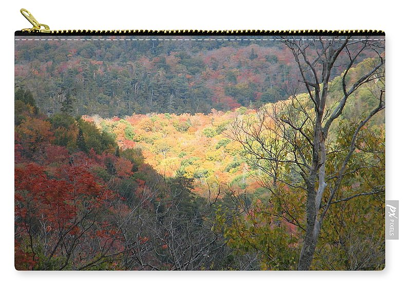 Fall Carry-all Pouch featuring the photograph Light On The Valley by Kelly Mezzapelle