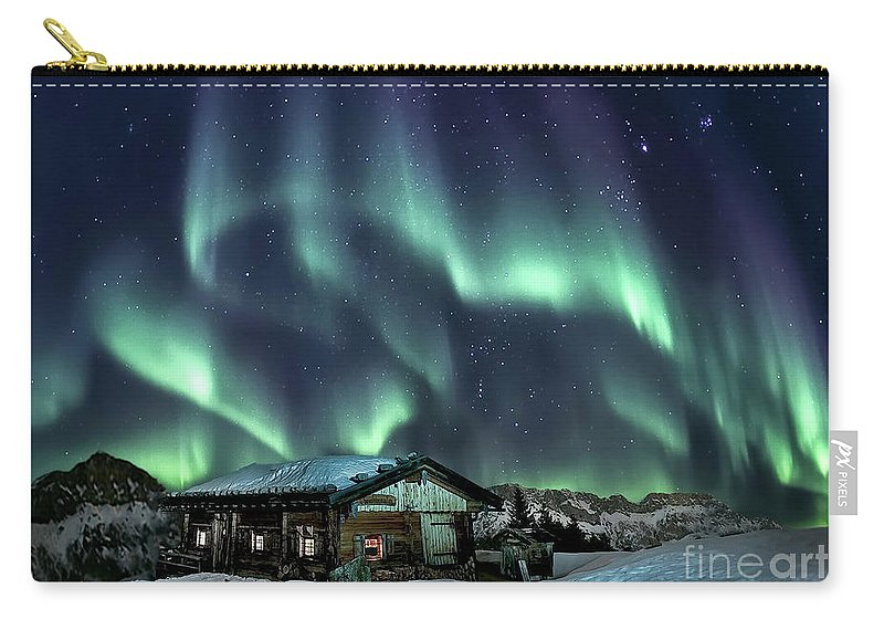 Kremsdorf Carry-all Pouch featuring the photograph Light Through The Night by Evelina Kremsdorf