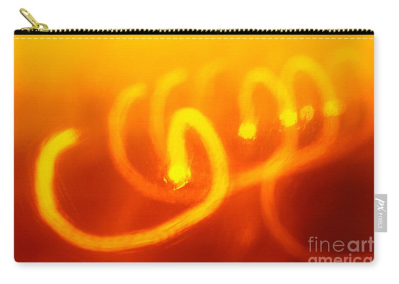 Abstract Carry-all Pouch featuring the photograph Light Trail Abstract by Gaspar Avila