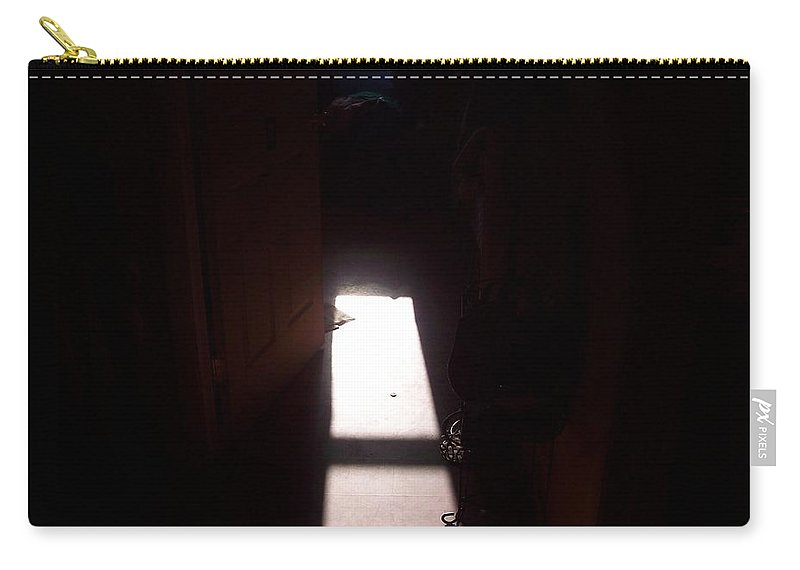 Carry-all Pouch featuring the photograph Light by Wolfgang Schweizer