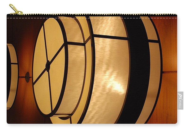Pop Art Carry-all Pouch featuring the photograph Lighted Wall by Rob Hans