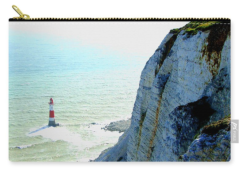 Lighthouse Carry-all Pouch featuring the photograph Lighthouse by Heather Lennox
