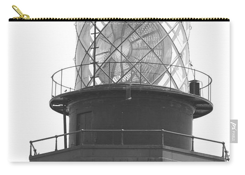 Landscape Carry-all Pouch featuring the photograph Lighthouse Light by Rob Hans