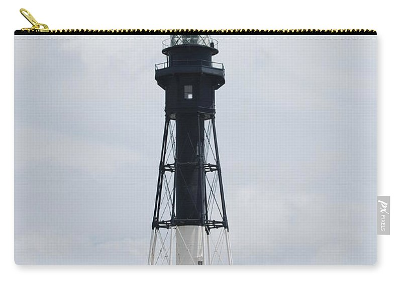Landscape Carry-all Pouch featuring the photograph Lighthouse by Rob Hans