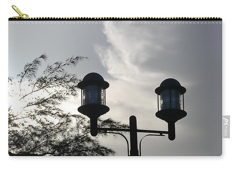 Sunset Carry-all Pouch featuring the photograph Lights In The Sky by Rob Hans