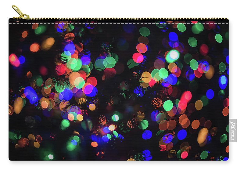 Carry-all Pouch featuring the photograph Lights by Sue Conwell