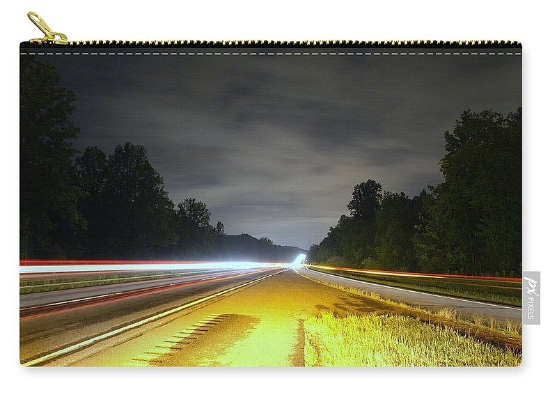 Landscape Carry-all Pouch featuring the photograph Lightworks by Alex Grichenko