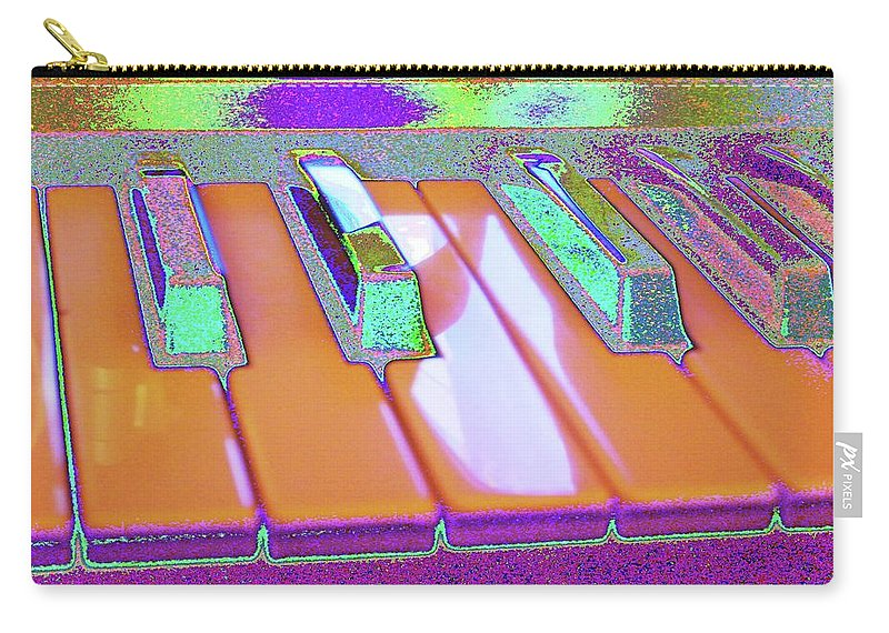 Piano Carry-all Pouch featuring the digital art Like You've Never Played Before by Marc Dettloff