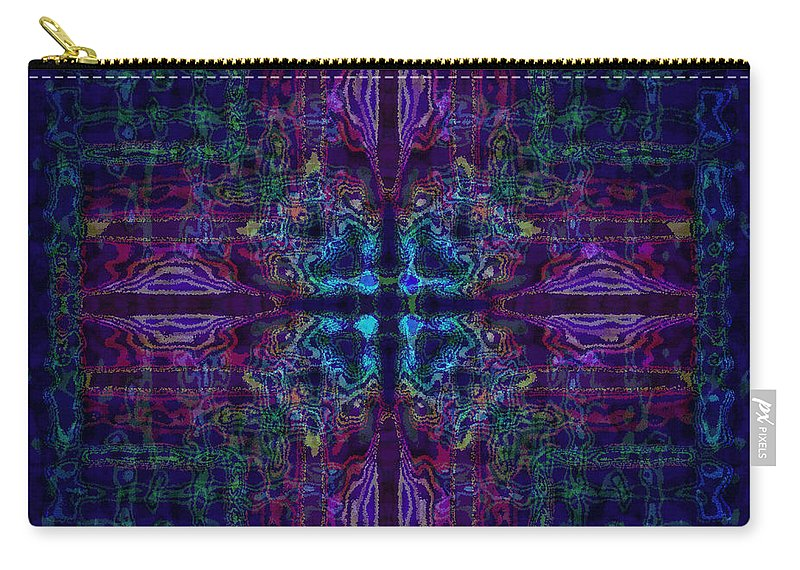 Design Carry-all Pouch featuring the mixed media Lilandria by Mando Xocco