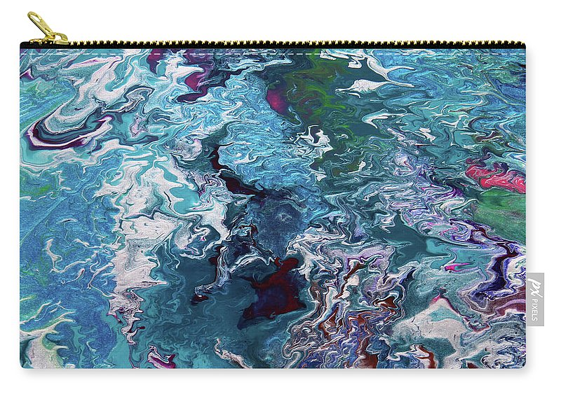 Fusionart Carry-all Pouch featuring the painting Lilies by Ralph White