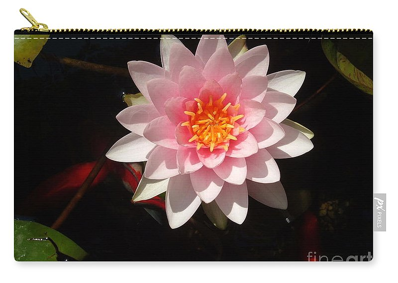 Lilly Carry-all Pouch featuring the photograph Lilly by Jost Houk